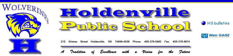Holdenville Public Schools